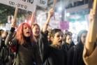 יום המאבק הבינלאומי באלימות נגד נשים בתל אביב, 25 בנובמבר 2014. (צילום: יותם רונן/אקטיבסטילס).