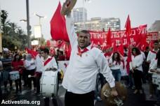 הפגנת אחד במאי, תל אביב (שירז גרינבאום / אקטיבסטילס)