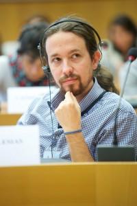 """יו""""ר המפלגה, פאבלו איגלסיאס (GUE/NGL CC BY-NC-ND 2.0)"""