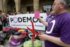 המהפכה הסגולה: מפלגת המחאה החברתית צפויה לנצח בבחירות בספרד