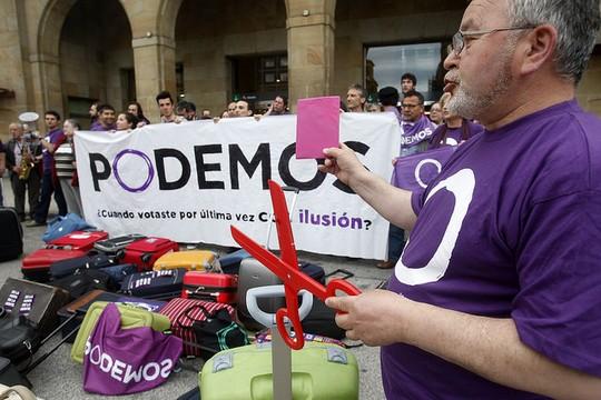 פעילי פודמוס (Podemos Unieu CC BY 2.0)