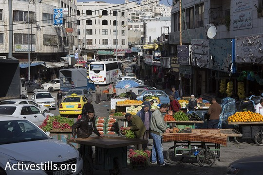 הרחובות הסמוכים לרחוב השוהדא, שנמצאים מעבר למחסום הסגור (אורן זיו/אקטיבסטילס)