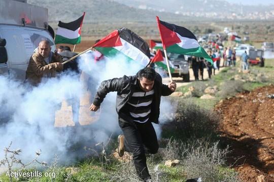 הצבא ירה גז מדמיע על התהלוכה לעבר עדי עד (אורן זיו / אקטיבסטילס)