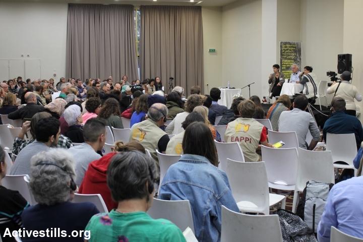 ועדת האמת לאחריות החברה הישראלית לאירועי 1948-1960, באר שבע, 10 דצמבר, 2014. אחמד אל-באז / אקטיבסטילס)