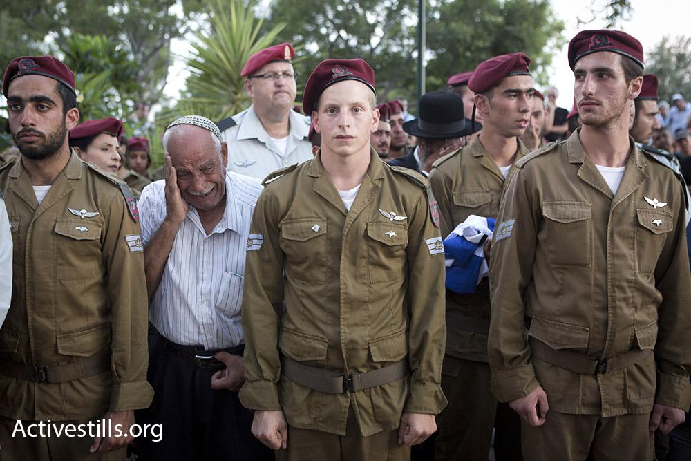 הלוויה צבאית, קיץ 2014 (אורן זיו/אקטיבסטילס)