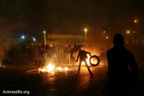 העימותים ממשיכים בכיכר. צילום: אורן זיו / אקטיבסטילס