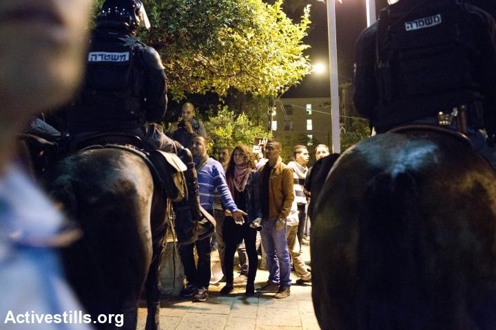הפגנה נגד תוכנית פראוור, חיפה, נובמבר 13' (קרן מנור / אקטיבסטילס)