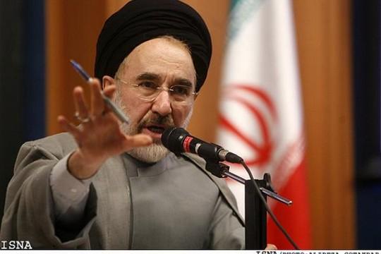 נשיא איראן לשעבר, מחמד ח'אתמי