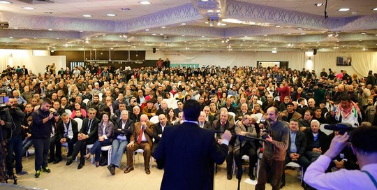 איימן עודה. קרא לערבים ברשימות הציוניות לחזור הביתה. (צילום: תקשורת רשימה משותפת)