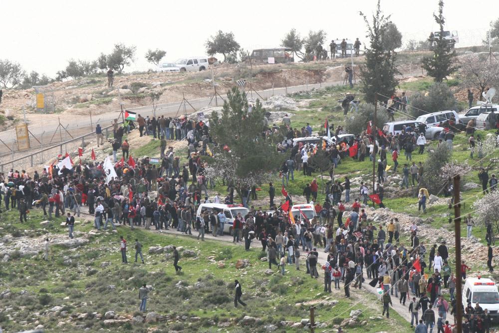 הפגנה בבלעין (ארכיון: אורן זיו / אקטיבסטילס)