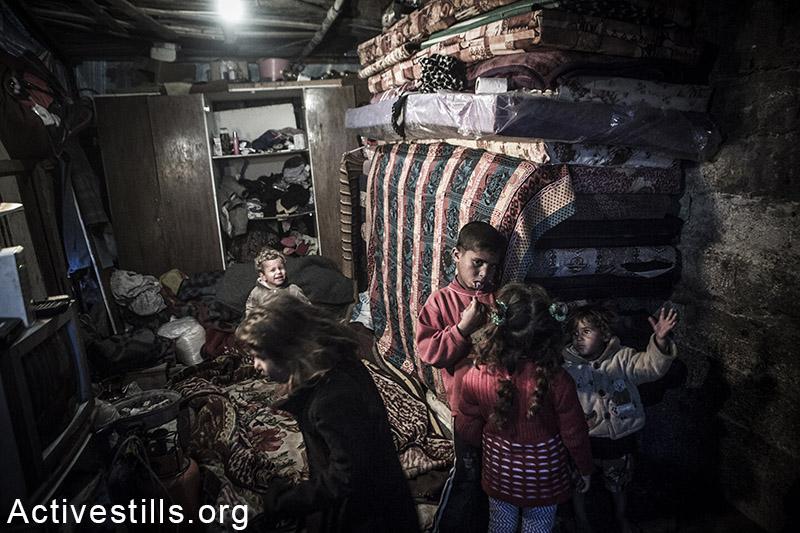בית משפחת שאבארי, בית חנון, רצועת עזה, 18 פברואר, 2015. אקטיבסטילס