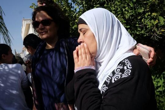 הנא אל-נאקיב, שביתה נהרס בלוד (יותם רונן / אקטיבסטילס)