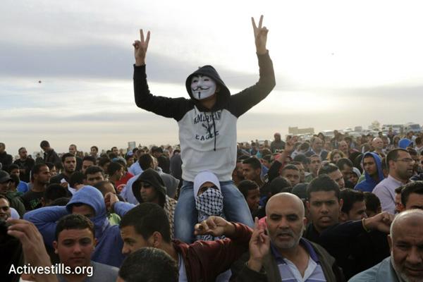 הפגנה בעיירה חורה נגד תוכנית פראוור (אורן זיו / אקטיבסטילס)