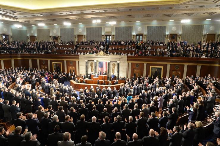 בנימין נתניהו בקונגרס האמריקאי (עמוס בן גרשון / לעמ)