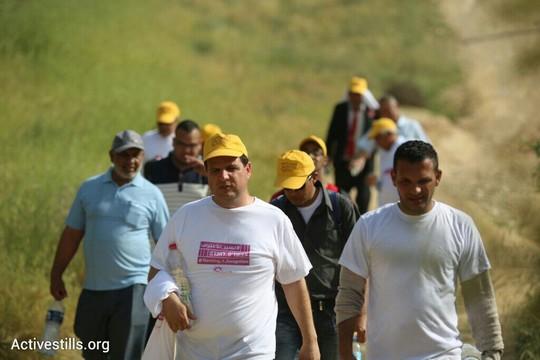 צעדת ההכרה בכפרים הבלתי מוכרים בנגב (אורן זיו/אקטיבסטילס)