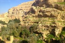 טיול בוואדי קלט: אי אפשר לברוח מפוליטיקה בפלסטין