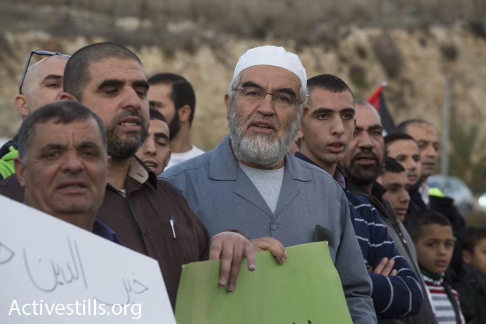השייח' ראיד סלאח, מנהיג הפלג הצפוני של התנועה האסלאמית ולשעבר ראש עיריית אום אל-פחם (אורן זיו / אקטיבסטילס)