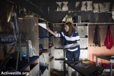 מורה בכיתה שהוצתה, בית הספר הדו-לשוני בירושלים (אורן זיו / אקטיבסטילס)