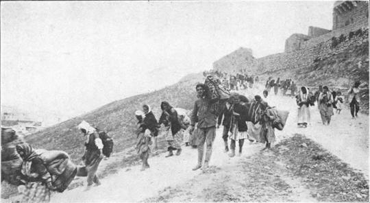 גירוש הארמנים, 1918