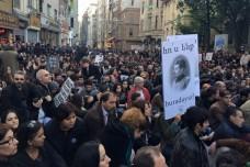 עצרת לזכר רצח העם הארמני, איסטנבול (הגר שיזף)