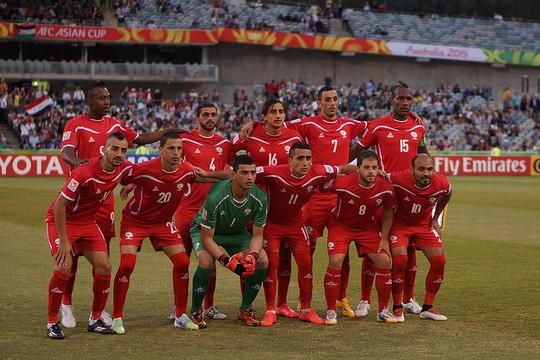 נבחרת פלסטין בכדורגל (צילום: Nasya Bahfen פליקר CC BY-ND 2.0)