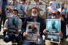 עיתונאים פלסטינים מוחים נגד מעצר מנהלי של עיתונאי