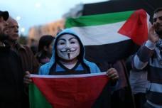 צעירים פלסטינים מפגינים נגד תוכנית פראוור (אקטיבסטילס)