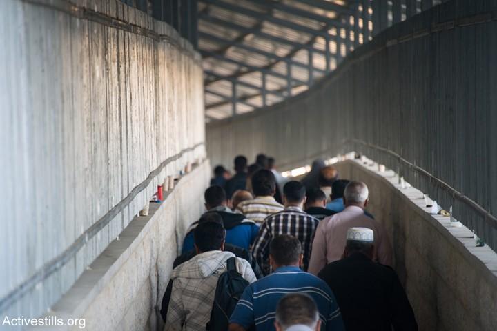 """""""מחסום 300"""", המחסום המרכזי שמפריד בין בית לחם לירושלים (אקטיבסטילס)"""