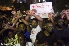 הפגנת יוצאי אתיופיה נגד גזענות, תל אביב (אורן זיו / אקטיבסטילס)