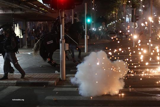 מחאת יוצאי אתיופיה. עימותים בין שוטרים למפגינים בכיכר רבין (אקטיבסטילס)