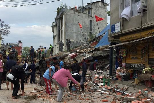 נפאל אחרי רעידת האדמה (צילום: Jana Lim/ ReSurge International פליקר CC BY-NC-ND 2.0)