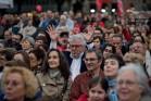 """עצרת של ההתארגנות העצמאית """"ברצלונה במשותף"""" ביום הבחירות המקומיות (Jordi Boixareu CC BY-NC-ND 2.0)"""