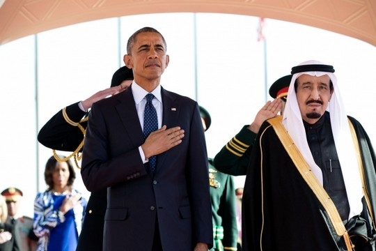 הנשיא אובמה מבקר בסעודיה (צילום: Pete Souza, דוברות הבית הלבן)