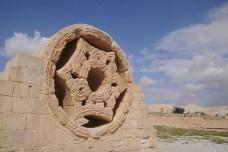 שרידים של ארמון הישאם, פאתי יריחו (orientalizing CC BY-NC-ND 2.0)