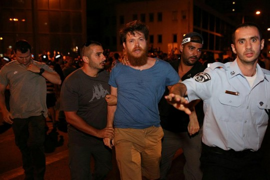 מחאת הגז בתל אביב. 27 ביוני 2015. (יותםרונן/אקטיבסטילס)