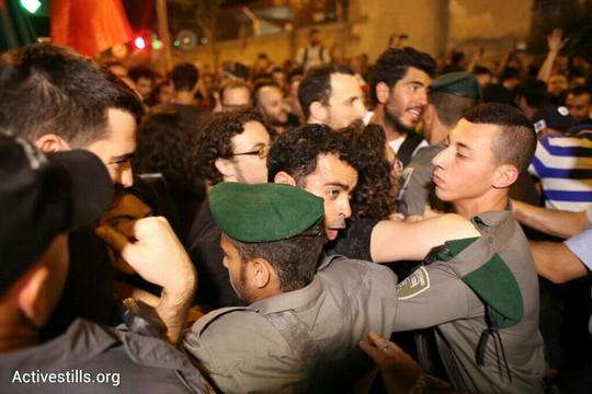 מחאת הגז בתל אביב. 27 ביוני 2015. (אורן זיו/אקטיבסטילס)