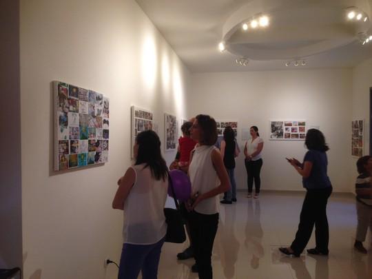 תערוכה לכבוד שלושים שנה לבית הספר הדו לאומי נווה שלום וואחת אל-סלאם (סמאח סלאימה)