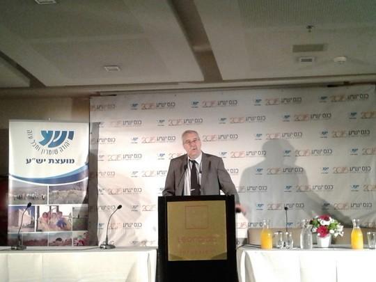 """ג'רלד שטיינברג, NGO-מוניטור, בכנס מועצת יש""""ע (אורלי נוי)"""