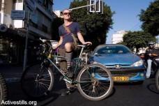 כך הופכת מדינת ישראל את רוכבי האופניים לעבריינים