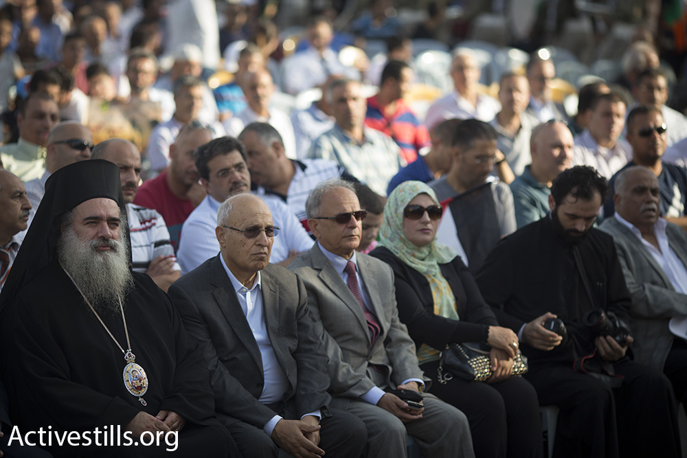 טקס לציון שנה לחטיפתו ורציחתו של מוחמד אבו ח'דיר. צילום: אורן זיו/אקטיבסטילס