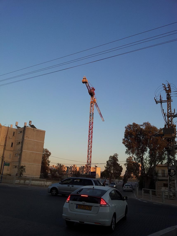 שכונה ענייה, בליבה יוקם מגדל יוקרה. באר שבע בירת ההזדמנויות (צילום: דני בלר)
