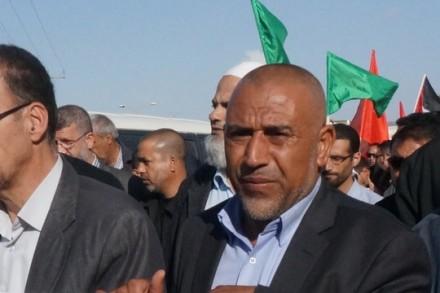 """ח""""כ טלב אבו עראר בהפגנה בנגב"""