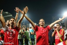 השבוע: רגע השיא של הכדורגל הפלסטיני בגמר בין עזה לגדה