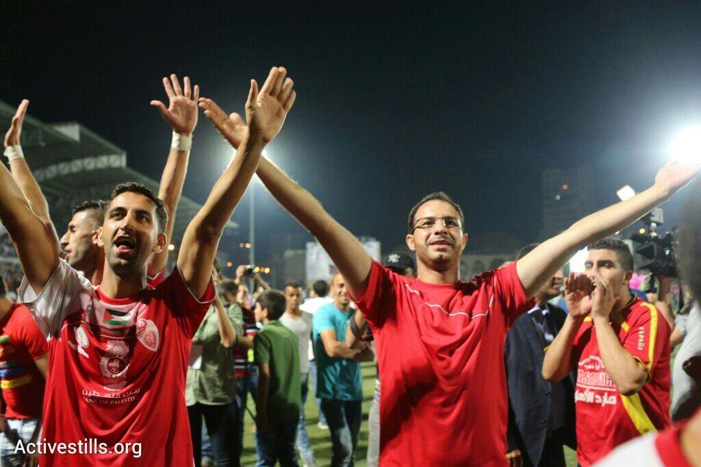 אל-אהלי חברון, מחזיקת הגביע הפלסטיני (אורן זיו / אקטיבסטילס)