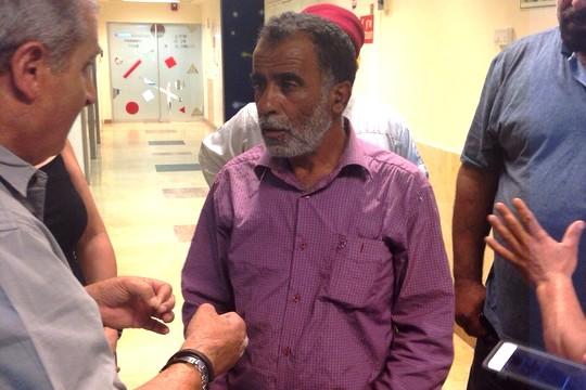 חוסין חסן דוואבשה, אבא של ריהאם, בתל השומר (סמאח סלאימה)
