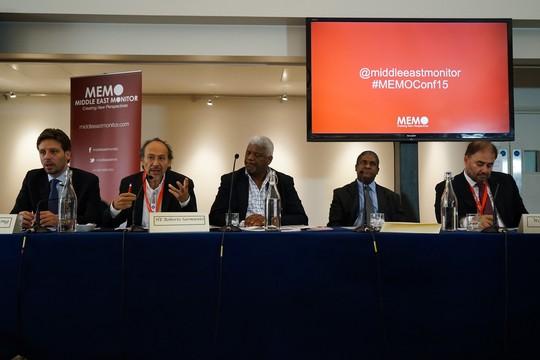 חברי פאנל הדיפלומטים של אמריקה הלטינית (צילום: MEMO)