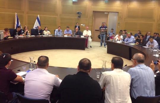 דיון בוועדת החינוך בנושא השביתה בבתי הספר הכנסייתיים (סמאח סלאימה)