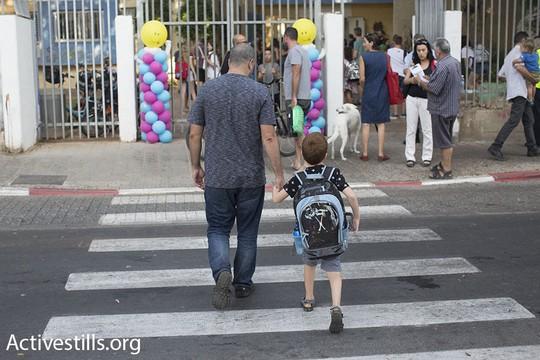 ומה עם 33,000 התלמידים בבתי הספר הנוצרים? יום ראשון ללימודים (אורן זיו/אקטיבסטילס)