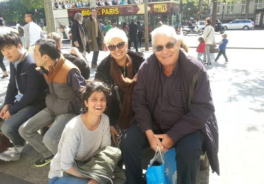 מוטי קירשנבאום ואני, פריז 2014