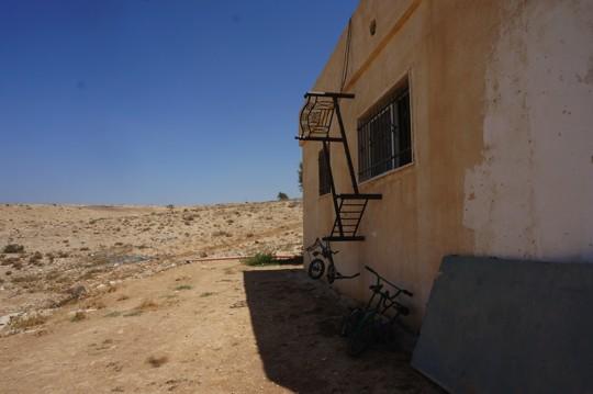 תמונה שצילם הילד רשיד אבו אלקיעאן במהלך הסדנה